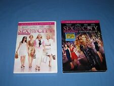Lot 2 Sex and the City The Movie Widescreen NIP/Extended Cut 2 Disc Special DVD!