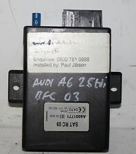 AUDI A6 2.5 TDI C5 BFC 2003 SAT RC TRACKING UNIT A6001771