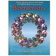 Solution Manual and Problem Biochemistry by Garrett, 5th Edition (PDF, eBOOK)