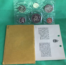1970 CANADA 6 Coin Proof-Like PL Set RCM Original Envelope Certificate Canadian
