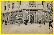 cpa 75 PARIS 26 Bd des ITALIENS Commerce Magasin Epicerie ALLEMANDE H. APPENRODT