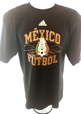 Adidas Mexico Futbol Mens T Shirt Original L 100 Cotton Seleccion Mexicana Gol