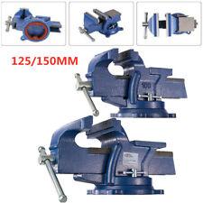 Schraubstock Parallel 125mm 150mm Amboss Für Werkbank Drehbar Teller 360°