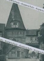 Iphofen : Rödelser Tor - Altstadtansicht - um 1915      Z 2-15