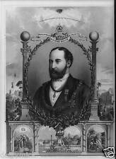 Edward Prince of Wales 1875, British Royalty 6x4 Inch Print