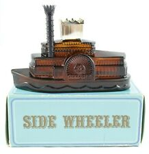 Avon Side Wheeler After Shave Spicy Collectible Riverboat Bottle