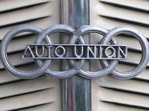 🇩🇪 Wertanlage Top-Rarität Demo Stations Motor Auto Union DKW Chemnitz ~1935