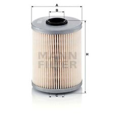 Mann Fuel Filter Element For Mitsubishi Space Star 1.9 Di-D