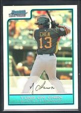 YUNG CHI CHEN 2006 BOWMAN CHROME RC ROOKIE FUTURES GAME REFRACTOR SP MINT $10