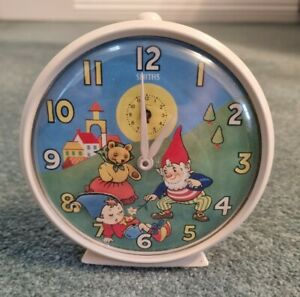 Smiths Noddy and Big-Ears Alarm Clock