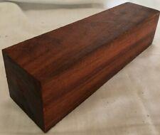 Granadillo Wood 2x2x8 Turkey Calls Pipe Making  Knife Scales Pool Cues Lumber