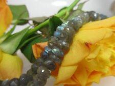 Labradorit Rondelle 6mm/ transparent + viel blaues Leuchten