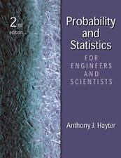 Probability and Statistics for Engineers and Scientists by Hayter, Anthony J., G