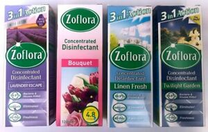 120ml ZOFLORA ANTIBACTERIAL DISINFECTANT CLEANER FOUR EDATION