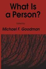 What Is a Person (Contemporary Issues in Biomedicine-ExLibrary