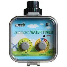 VS01 Greneds Easy   Water Timer(3~145 Psi,Solenoid, Solar&RainStop)