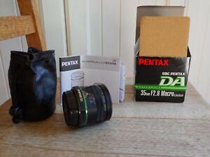 Pentax SMC DA 35mm f/2.8 Macro Limited Lens
