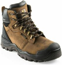 Buckler Buckshot BSH009 Leather Lace Safety Boots Work Boots