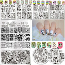 BORN PRETTY Nail Art Image Stamping Plates Image Stamp Templates Manicure Summer