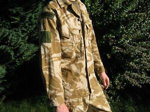 British Army Desert Combat Shirt Lightweight Jacket DPM Camo Military Surplus