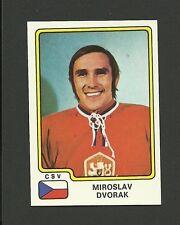 Miroslav Dvorak Team Czechoslovakia Czech Vintage 1979 Panini Hockey Sticker #78