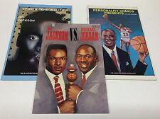 BO JACKSON vs. MICHEAL JORDAN (SPORTS COMICS/011631) SET LOT OF 3