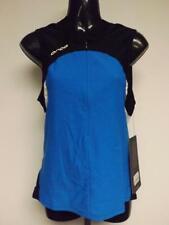 New Blue Black White Mens Size S Small Triathlon Swim Running Orca Shirt Top