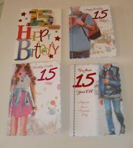 15 YEAR OLD BIRTHDAY CARDS
