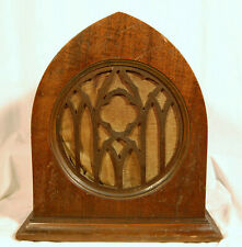 Vtg Early Art Deco Peerless Radio Phonograph Cathedral Style Speaker Reproducer