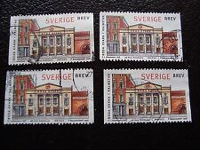 SUEDE - timbre yvert et tellier n° 2024 x4 obl (A29) stamp sweden