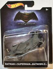 HOT WHEELS BATMAN 2016 BATMAN V SUPERMAN BATMOBILE