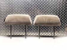 84-89 NISSAN 300ZX TURBO Z31 FRONT SEAT HEADRESTS HEAD REST SET RH LH CLOTH OEM