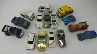 Vintage 1980's Lot of Hot Wheels Diecast Cars Trucks Jeep VW Ice Cream Truck