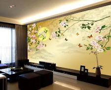 3D Flowers Moon 882 Wallpaper Mural Paper Wall Print Wallpaper Murals UK Lemon