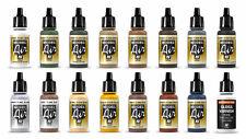 12 Vallejo Model Air Acryl Airbrush Farben Passend Für Modelleisenbahnen