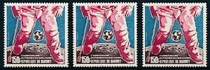 [P15930] Dahomey 1974 : Space - 3x Good Very Fine MNH Airmail Stamp