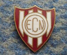 ESPORTE CLUBE NOROESTE BAURU BRAZIL FOOTBALL SOCCER 1970's BIG ENAMEL PIN BADGE