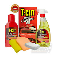 Polish Wax Clay Bar Kit Car Paintwork bodywork Restorer Deep Shine T-Cut