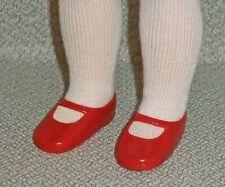 2 pr. Red Vinyl Shoes for MY FRIEND DOLLS - Vintage Vinyl shoes, 2 pair!