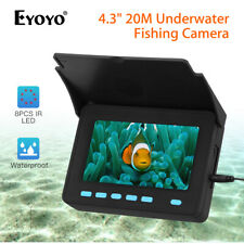 "4.3"" 20M Fish Finder 1000Tvl Ip68 Fixed on Rod Underwater Fishing Video Camera"