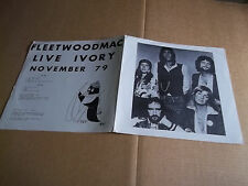 Fleetwood Mac ‎– Live Ivory November 79 rare live LP Not Tmoq NM