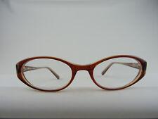 Preiswerte braune Brillenfassung Damenbrille Cateyeform leicht NEU Gr. M 49[]19