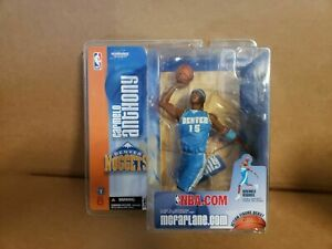Carmelo Anthony Denver Nuggets NBA McFarlane Sports 2004 Series 6 Blue Jersey