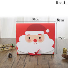1Pcs Xmas Christmas Eve Gift Box Favour Present Gifts Candy Boxes Superb Bags