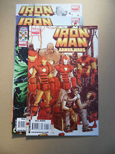 Iron Man & The Armor Wars 1 - 4 . Lot Complet . Marvel 2009 / 10 . VF