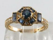 Engagement Sapphire Natural Fine Rings