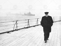 PRINT POSTER VINTAGE PHOTO WAR WWII YALTA STALIN ROOSEVELT CHURCHILL NOFL0479