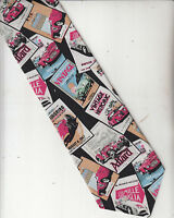 RM Style-Ralph Marlin-[Car Theme]-100% Silk Tie-Made In USA-RS1- Men's Tie