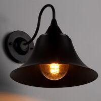 Retro Vintage Outdoor Wall Lamp Lantern Sconce Light Fixture Garden Porch