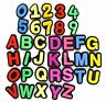 AUEAR, 36 Pcs Letter Number Shoe Charm Croc Jibbitz Letters Clog Alphabet Shoe C